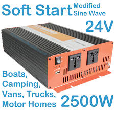 24V INVERTER 2500W Car Truck Boat Soft Start Modified Sine Wave ... Travel Trailer 1000 Watt Pure Sine Wave Power Invter Autoexec Roadmaster Truck Desk W Roadtrucksuper01 Camping Electricity Andy Arthurorg 750w Aw Direct Top Quality 1000w 12v Dc To 110v Ac Truckrv Box Camper And Rv Battery Install Electrical 35 Youtube 3000w Car Auto Usb Dc 12v To Ac 220v Adapter Shop Invters At Lowescom Digital Display 220v 2000w 3000w Ship 500w 1200w Usb Mobile Vehicle Led 4000w Peak Charger