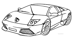 Perfect Lamborghini Coloring Page 81 On Gallery Ideas With