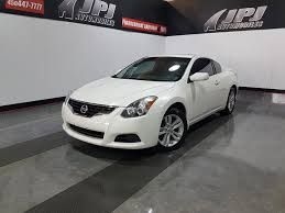 siege nissan pre owned 2013 nissan altima 2 5 s coupe toit mag siege chauffant