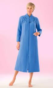 robe de chambre polaire femme zipp zipped dressing gown songe afibel