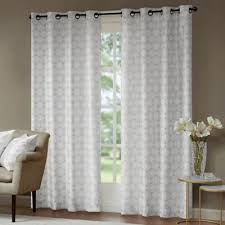 Sidelight Window Treatments Bed Bath And Beyond by Buy Metallic Window Panels From Bed Bath U0026 Beyond