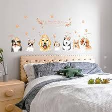 wlgood niedlichen hund tier schlafzimmer remoble