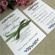 New Rustic Elegant Wedding Invitations Or Woodland Leaves Invitation Simple Invite White Inspirational