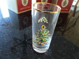 Spode Christmas Tree Highball Glasses by Spode Christmas Tree Glasses Christmas Lights Decoration