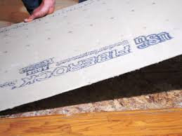 Preparing Concrete Subfloor For Tile by Laying A New Tile Floor How Tos Diy