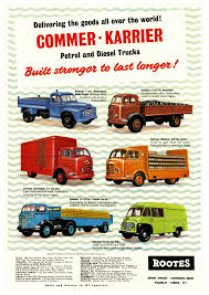 100 Truck And Van Accessories CommerKarrier 1958 S S Accessories