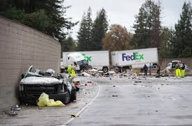 One Dead In FedEx Truck Crash On I-5 | The Sacramento Bee Johnson City Press Update 1 Dead In Ctortrailer Crash At I81 Fedex Truck Crashes Front Of Vogue Center Killed After Car And Truck Crash Otay Mesa Times San New Jersey Highway Sends Packages Flying 10 Days Before Commuter Train Smashes Into Cuts It Two Cnn Volving Semi Box Elder County Gephardt Stolen On South Side Abc7chicagocom Slams Parked News Sports Jobs Obsver Today California Tour Bus 911 Calls Released Hit By Train Utah Youtube Fatal 880 Involving Fed Ex Cleared Fivehour Omaha Police Cruiser Collide