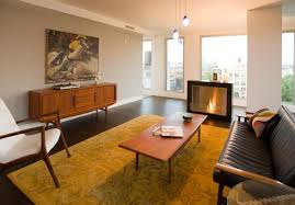 Living Room Designs In The 50s And 60s Styles