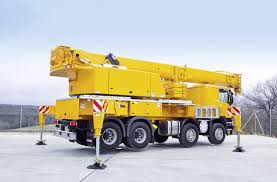 100 Truck Mounted Cranes LTF 104541 Mounted Telescopic Crane Liebherr