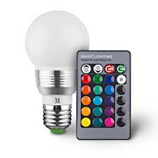 kobra retro led color changing light bulb with remote 16