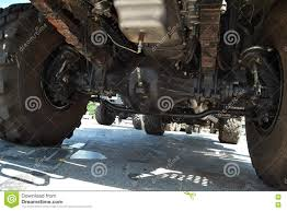 Heavy Truck Suspension Stock Image. Image Of Steel, Construction ...