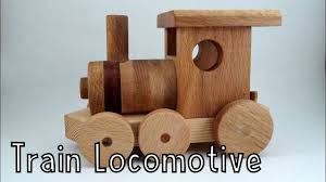 wooden creations train locomotive youtube