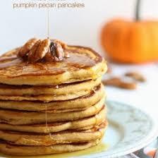 Vegan Bisquick Pumpkin Pancakes by Whole Wheat Pumpkin Pecan Pancakes Skinnytaste