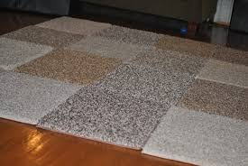 Peel And Stick Carpet Tiles Cheap by A Scoop Of Sherbert Large Area Rug Diy For Under 30