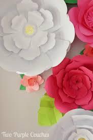 diy giant paper flower backdrop Roho 4senses