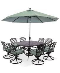 Macys Outdoor Dining Sets by Nottingham Outdoor Cast Aluminum 9 Pc Dining Set 60