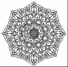 Superb Intricate Mandala Coloring Pages With Free Printable For Adults And