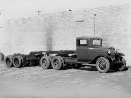 100 1930 Ford Truck 31 Model AA 6 Wheel Tractor
