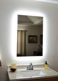 lights simple lighted makeup mirror wall mount mounted
