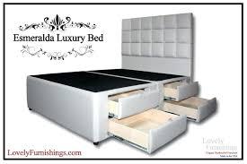 Platform Bed Frame Walmart by Grey Velvet Bed Frame Best Platform Bed Frame With Storage Queen