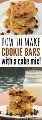 Pumpkin Cake Mix Bars by How To Make Cookie Cake With Cake Mix Eating On A Dime