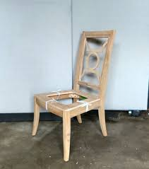 VANGUARD FURNITURE ANNIE SELKE UNFINISHED DINING SIDE CHAIR FRAME