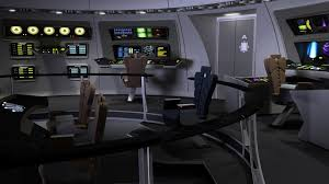 Star Trek Captains Chair by Bridge Starstation Computer Art