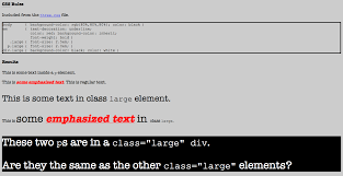 Text Decoration Underline Style by List Of All Examples With Notes For Dal Cs 3172 Web Centric
