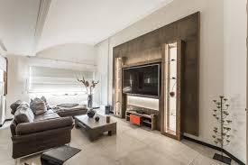 wohnraum gestaltung keramik holz led modern wohnzimmer