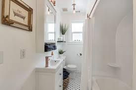 30 stylish creative narrow bathroom ideas