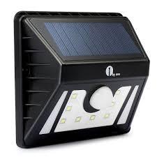 1byone Solar Motion Sensor Light Weatherproof Outdoor Security