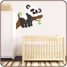 stickers panda chambre bébé stickers muraux sticker carte afrique