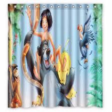 tissus pour rideaux pas cher pas cher 66 quot x 72 quot pouces le livre de la jungle rideau