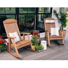 LuxCraft Porch Rocker