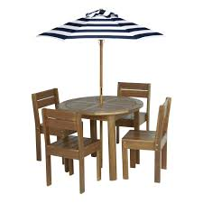 Living Accents Patio Heater by Living Accents Raleigh 6 Piece Kids Patio Set W Blue Stripe