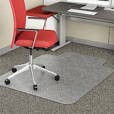 Es Robbins Chair Mat High Pile by Chair Mats At Office Depot Officemax
