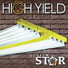 t5 4 ft 48 8 bulb fluorescent system ls 6500k grow light for