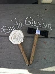 Bride And Groom Guest Book Pen Set Rustic Wedding By SnootyBride 2500