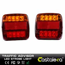 Castaleca 12V 20 Leds Car Truck Warning Rear Tail Light Warning ... 2x Led Rear Tail Lights Truck Trailer Camper Caravan Bus Lorry Van 0708 Dodge Ram Pickup Euro Red Clear 111 Round And W Builtin Reflector 4 Inch Led Whosale 2018 8 Car Light Warning Rear Lamps Waterproof Amazonca Trucklite 44022r Super 44 Stopturntail Kit 42 2 Pcs With License Plate Lamp Durable Lights Ucktrailer Circular Stoptail Lamp 1030v 1 Pair 12v Turn Signal 20fordf150taillight The Fast Lane