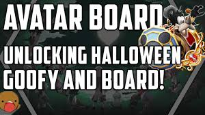 Halloween Town Sora Medal by Avatar Board Its Halloween Unlocking Halloween Goofy Kingdom