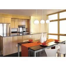 Kitchen Solid Wood Varnished Island Kitchen Cabinets Round Modern