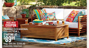 Cost Plus World Market New Outdoor Arrivals 10% Coupon Free