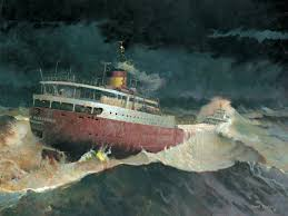 Where Did The Edmund Fitzgerald Sank Map by Edmund Fitzgerald Decades Of Speculation Fascination And