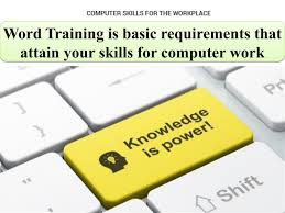 How To Word Your Computer Skills On A Resume by Word Is Basic Requirements That Attain Your Skills For