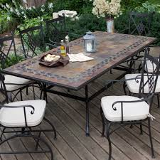 gorgeous tile patio table furnishing outdoor spaces with patio
