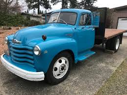 100 1950 Chevrolet Truck Lucky Collector Car Auctions Lot 508 Flatbed Dump