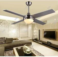 48inch 52inch chandelier fan lights simple led modern minimalist
