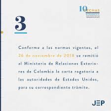 Jurisdicción Especial Para La Paz On Twitter