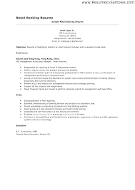 Retail Customer Service Skills Resume Example For Summary Manager Sample