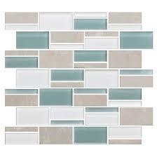 american olean mosaic tile american olean color appeal blends c136 pacific coast blend 3